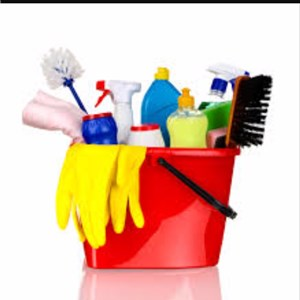 P & R Cleaning Service Logo