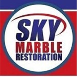 SKY Marble Restoration Logo