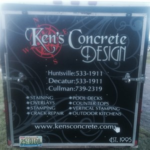Kens Concrete Designs Inc Logo