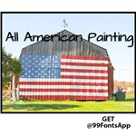 All American Painting Cover Photo