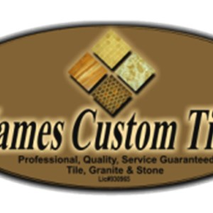 James Custom Tile Logo