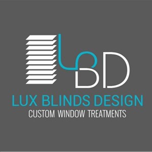 Lux Blinds Design Logo