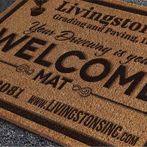 Livingstons Grading & Paving, Inc. Logo