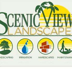 Scenic View Landscape Logo