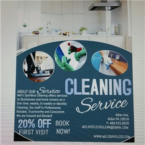 Mels Spotless Cleaning Logo