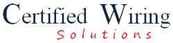Certified Wiring Solutions Logo