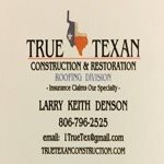 TRUE TEXAN Construction & Restoration Logo