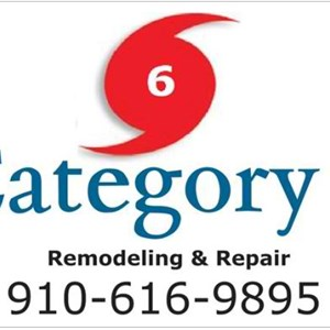 Category 6 Remodeling and Repair Logo