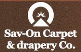Sav-on Carpet & Drapery CO Logo