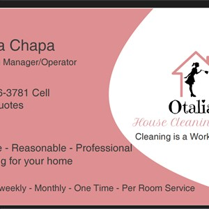 Otalias House Cleaning Service Logo