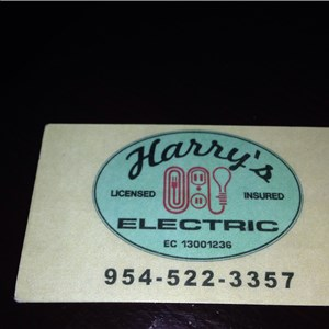 Harry - The Electrician Logo