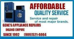 Genes Appliance Repair Logo