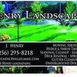 Henry Landscape & Lawn Maintenance Logo