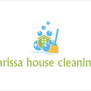 Larissa house cleaning Logo