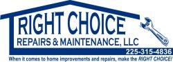 Right Choice Repairs & Maintenance Logo