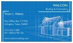 Walcon Roofing & Contractors, LLC Logo
