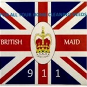 British Maid 911 Logo