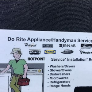 DO RITE APPLIANCE Logo