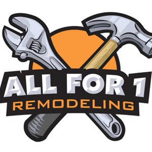 All For 1 Remodeling Logo