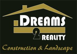 Dreams2reality Construction and Landscape Logo
