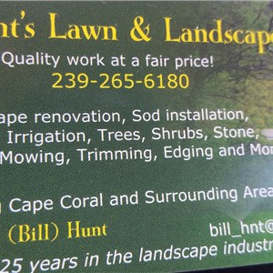 William Hunts Lawn & Landscape Cover Photo