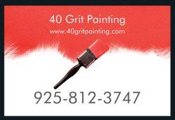 40 Grit Painting Logo