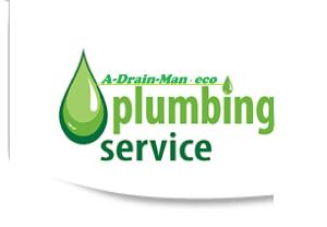 A-drain-man Logo