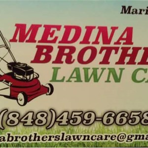 Medina Brothers Lawn Care Logo