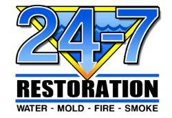 24-7 Restoration Logo