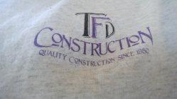 Tfd Construction Logo