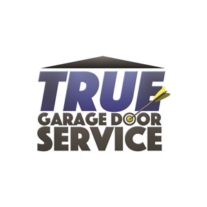 True Garage Door Service Logo