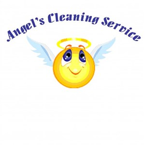 Angels Cleaning Service Logo