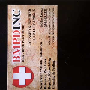 Brick Paver Medic Cover Photo