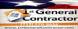1st General Contractor Logo