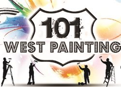101 West Painting Logo