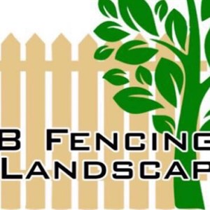 H & B Fencing And Landscaping Logo