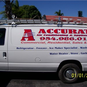 A Accurate Air Conditioning & Appliance Cover Photo