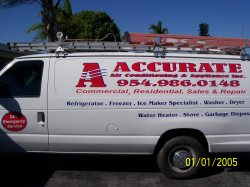 A Accurate Air Conditioning & Appliance Logo