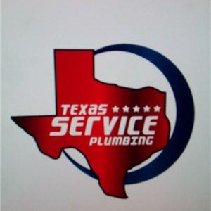 Texas Service Plumbing Logo