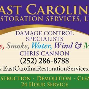 East Carolina Restoration Services Logo