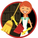 Maids 4 Hire Cleaning Services Logo