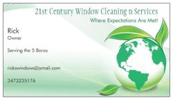 21 Century Window Cleaning N Services Logo
