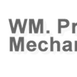 Priebe William Mechanical Logo