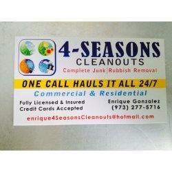 4 Seasons Cleanouts Junk&Rubbish Removal Logo