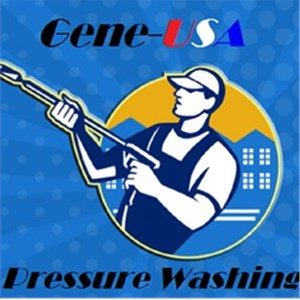 Gene-usa Pressure Washing Logo