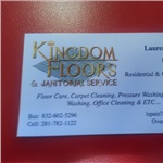Kingdom Floors & Janitorial Service Logo
