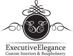 Executive Elegance Upholstery Logo