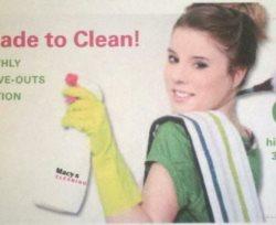 Macys Cleaning Service Logo