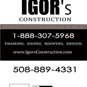 Igors Construction LLC Logo