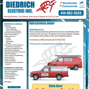 Diedrich Electric Inc Logo